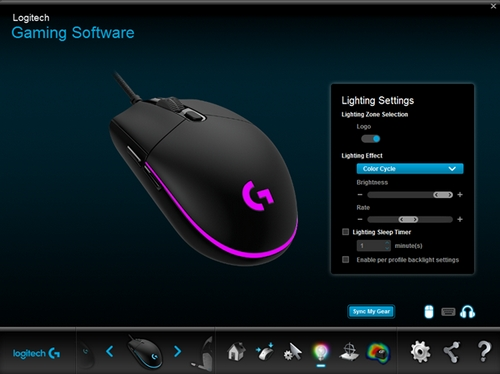 logitech gaming software fortnite